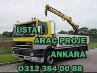 KOLTUK EKLEME ARAÇ PROJELERİ 0312 384 00 88